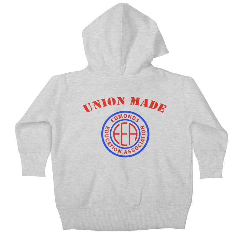 Edmonds EA Seal-Union Made Kids Baby Zip-Up Hoody by Edmonds Education Association Swag Shop