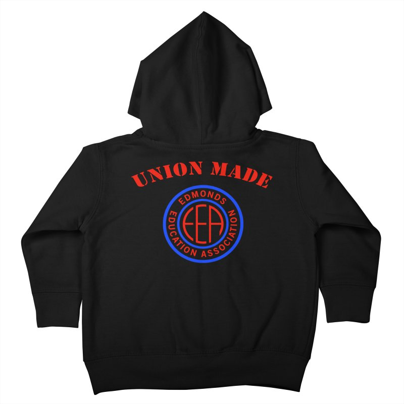 Edmonds EA Seal-Union Made Kids Toddler Zip-Up Hoody by Edmonds Education Association Swag Shop