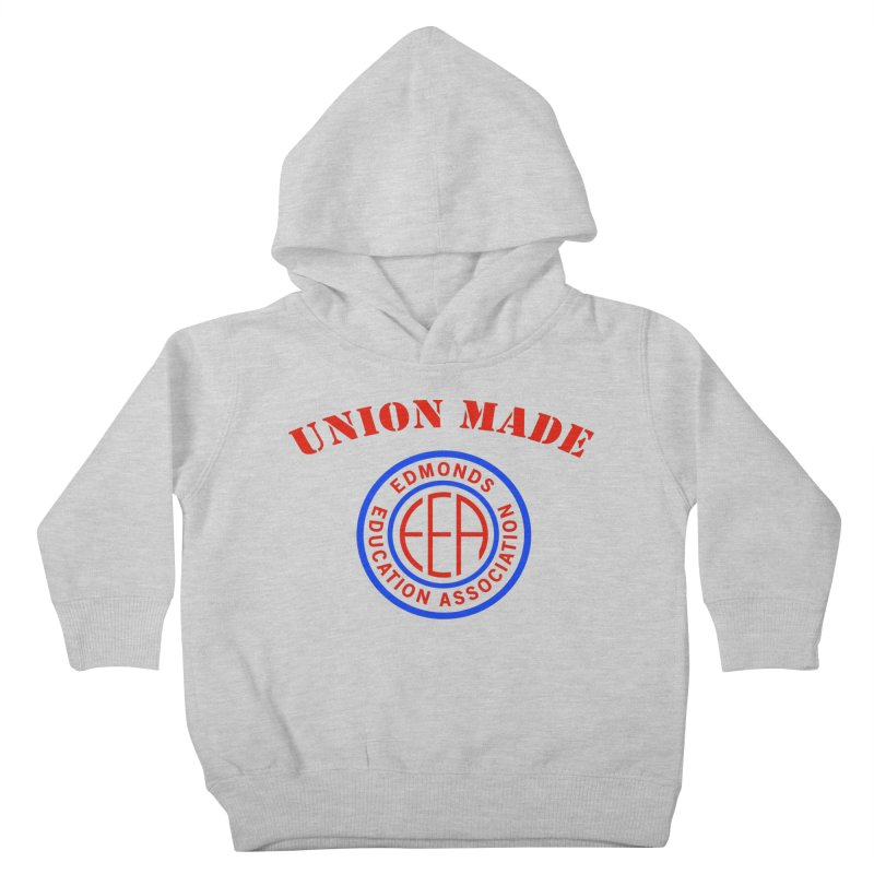 Edmonds EA Seal-Union Made Kids Toddler Pullover Hoody by Edmonds Education Association Swag Shop