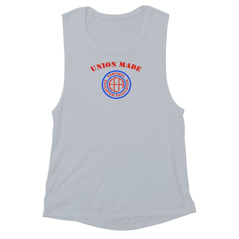 Edmonds EA Seal-Union Made Women's Muscle Tank by Edmonds Education Association Swag Shop