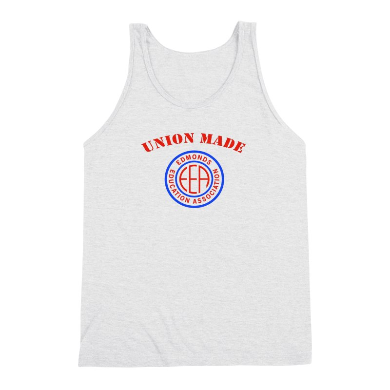 Edmonds EA Seal-Union Made Men's Triblend Tank by Edmonds Education Association Swag Shop