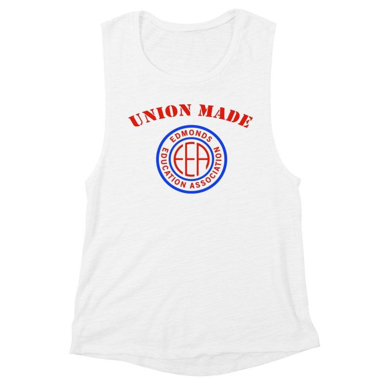 Edmonds EA Seal-Union Made Women's Muscle Tank by Edmonds Education Association Swag Shop
