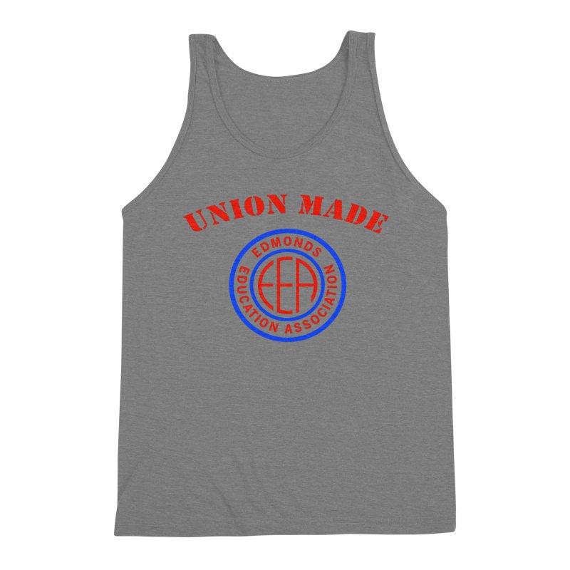 Edmonds EA Seal-Union Made Men's Triblend Tank by Edmonds Education Association Swag Shop