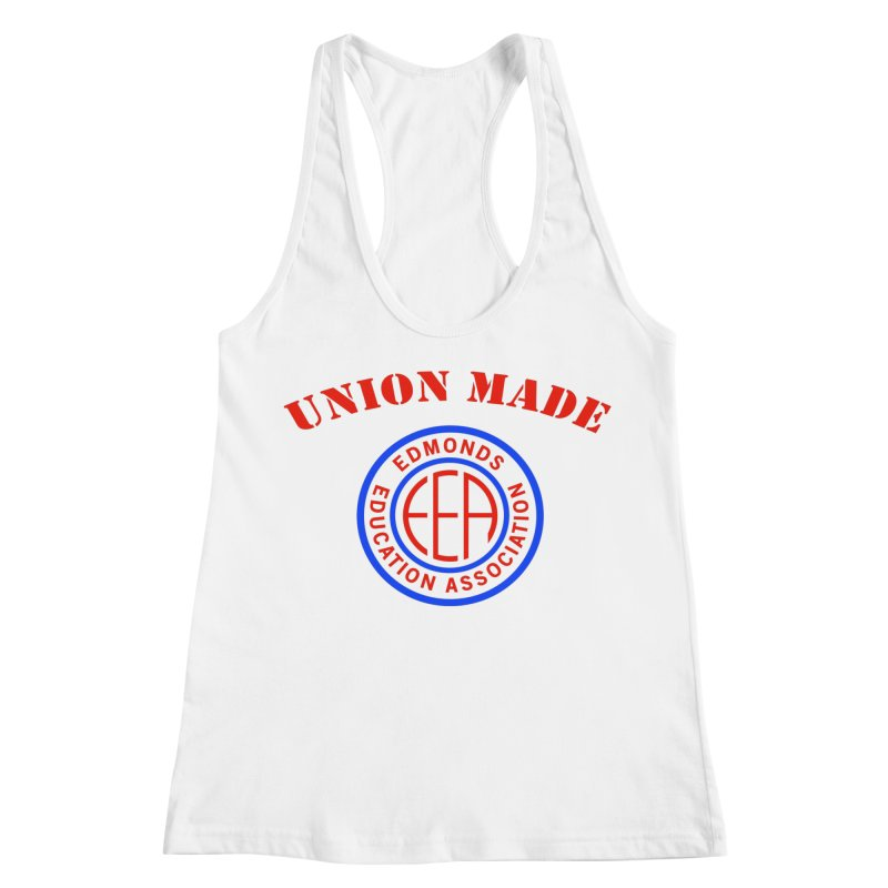 Edmonds EA Seal-Union Made Women's Racerback Tank by Edmonds Education Association Swag Shop