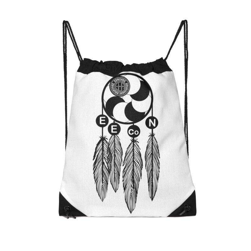 Edmonds Educators of Color Network Seal - Full size Accessories Drawstring Bag Bag by Edmonds Education Association Swag Shop