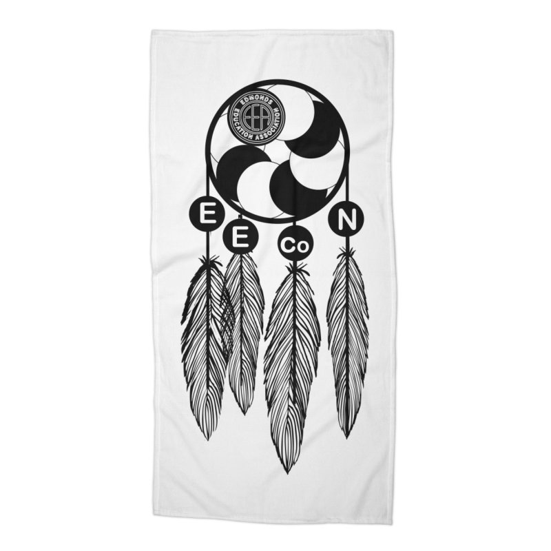 Edmonds Educators of Color Network Seal - Full size Accessories Beach Towel by Edmonds Education Association Swag Shop