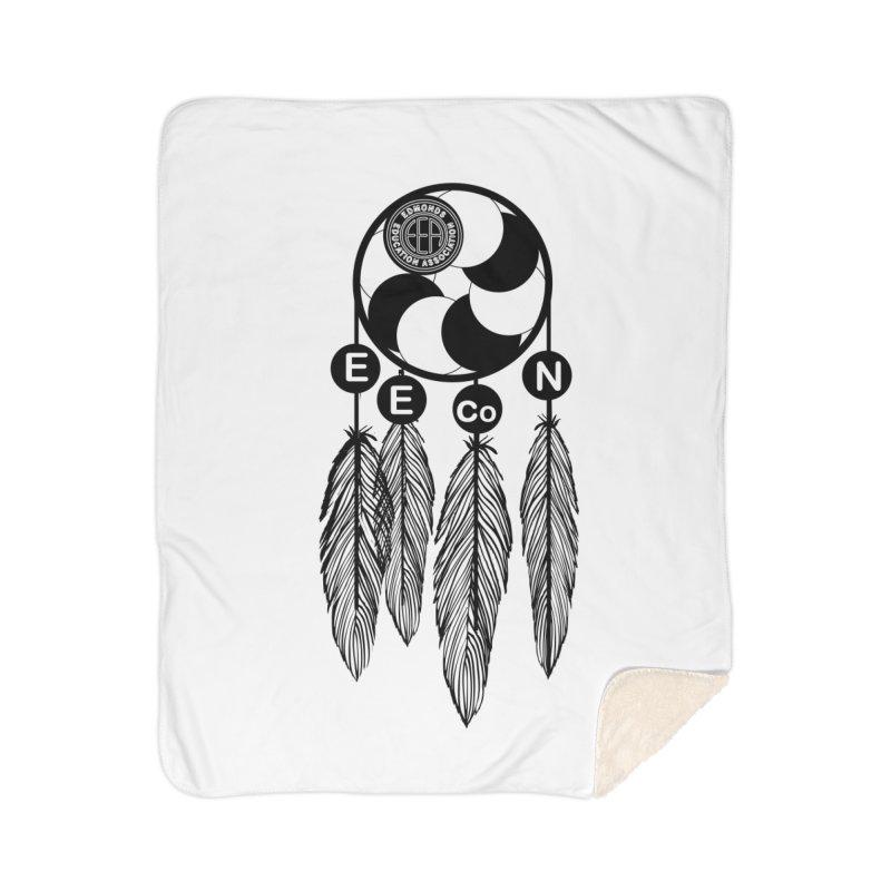 Edmonds Educators of Color Network Seal - Full size Home Sherpa Blanket Blanket by Edmonds Education Association Swag Shop