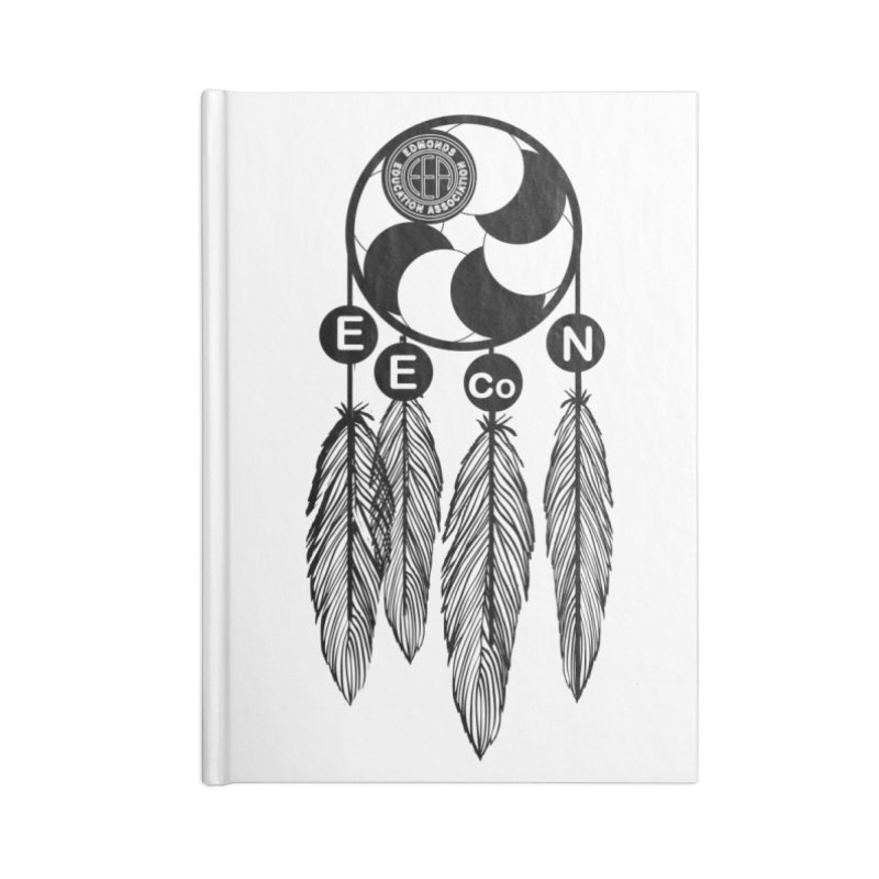 Edmonds Educators of Color Network Seal - Full size Accessories Lined Journal Notebook by Edmonds Education Association Swag Shop