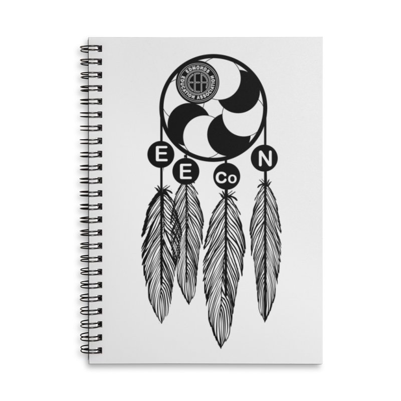 Edmonds Educators of Color Network Seal - Full size Accessories Lined Spiral Notebook by Edmonds Education Association Swag Shop