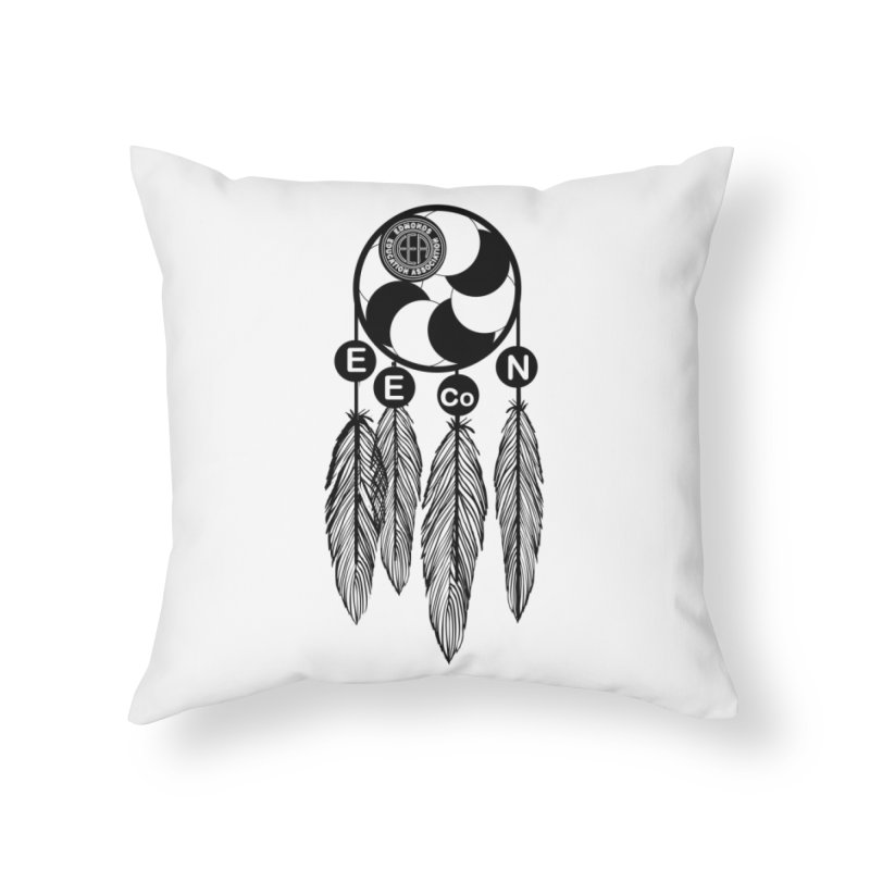 Edmonds Educators of Color Network Seal - Full size Home Throw Pillow by Edmonds Education Association Swag Shop