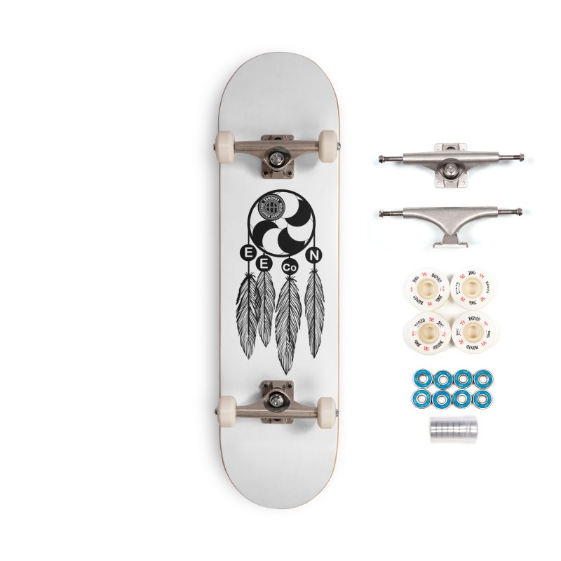 Edmonds Educators of Color Network Seal - Full size Accessories Complete - Premium Skateboard by Edmonds Education Association Swag Shop