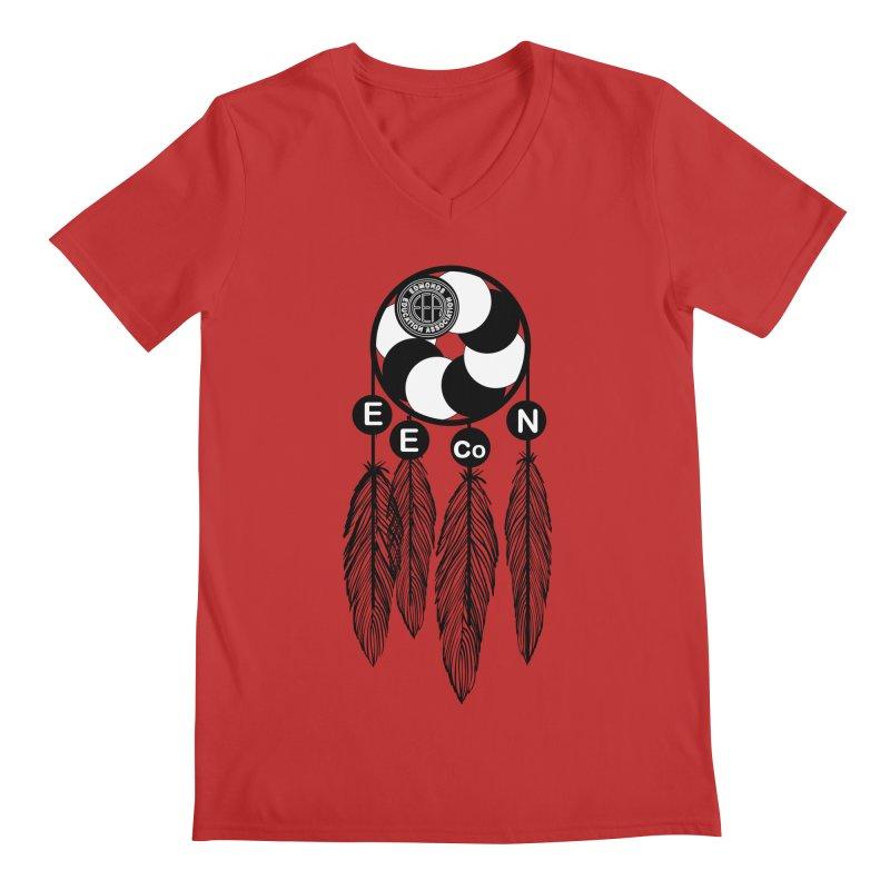 Edmonds Educators of Color Network Seal - Full size Men's Regular V-Neck by Edmonds Education Association Swag Shop