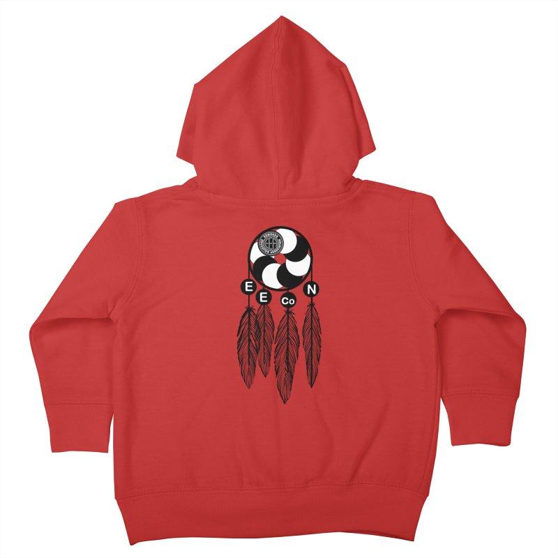 Edmonds Educators of Color Network Seal - Full size Kids Toddler Zip-Up Hoody by Edmonds Education Association Swag Shop