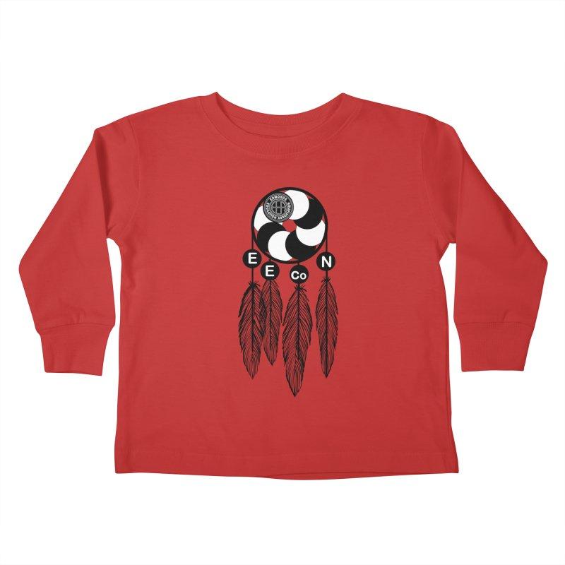 Edmonds Educators of Color Network Seal - Full size Kids Toddler Longsleeve T-Shirt by Edmonds Education Association Swag Shop