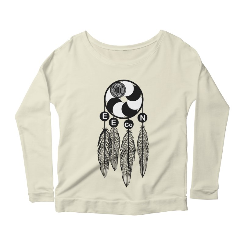 Edmonds Educators of Color Network Seal - Full size Women's Scoop Neck Longsleeve T-Shirt by Edmonds Education Association Swag Shop
