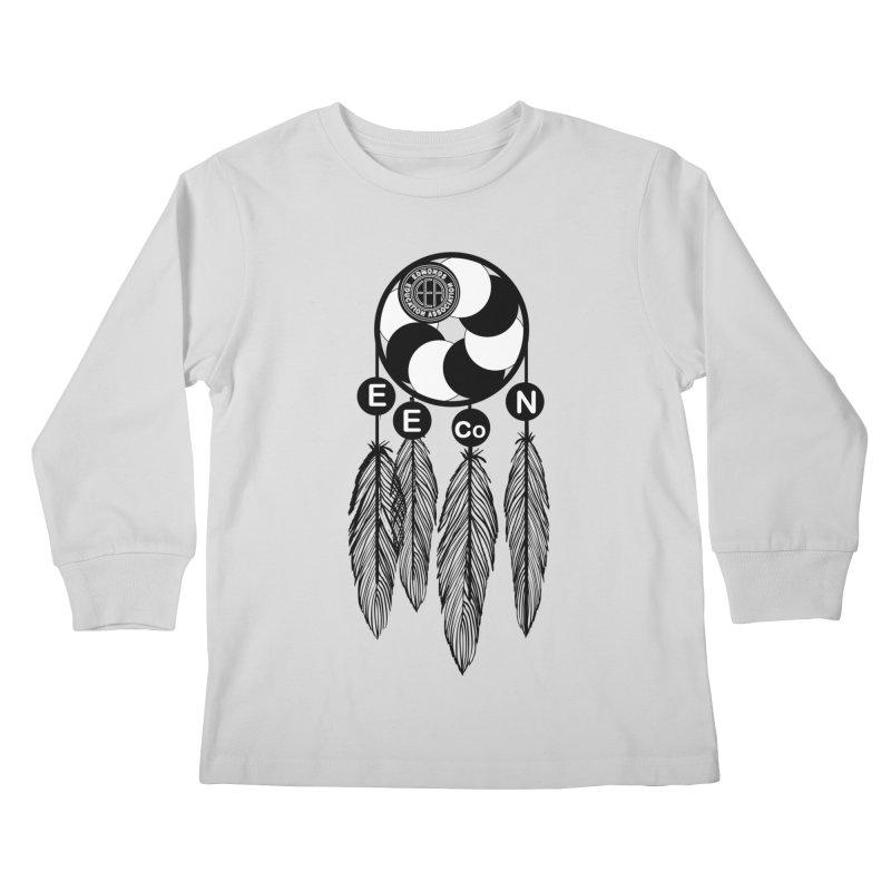 Edmonds Educators of Color Network Seal - Full size Kids Longsleeve T-Shirt by Edmonds Education Association Swag Shop
