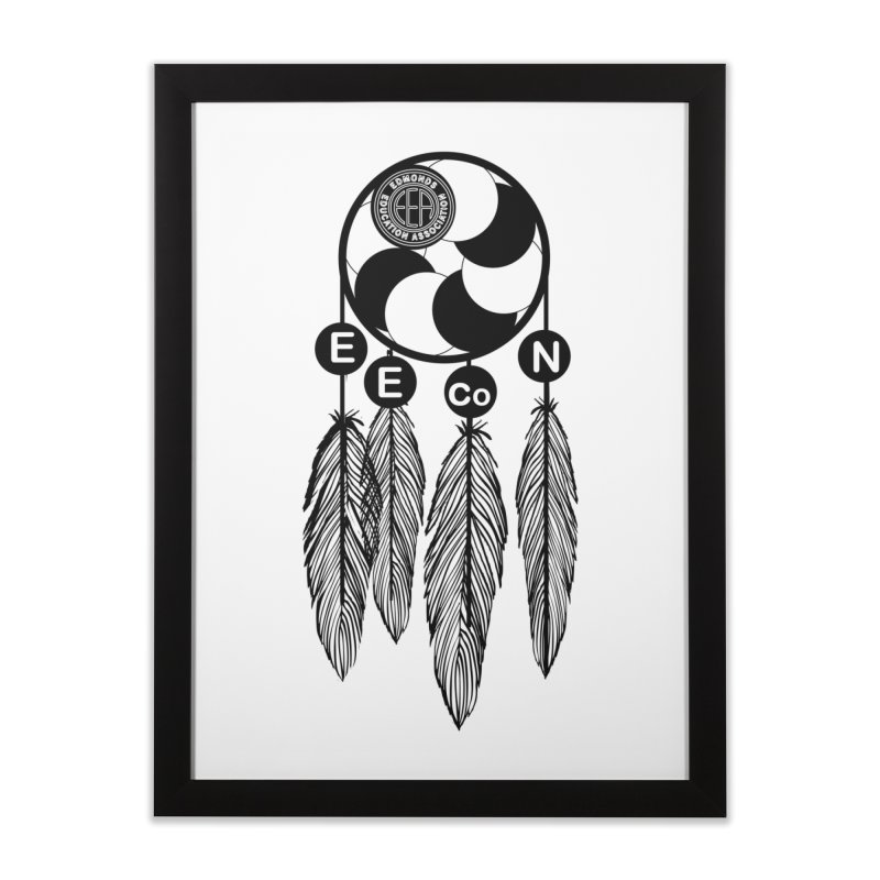Edmonds Educators of Color Network Seal - Full size Home Framed Fine Art Print by Edmonds Education Association Swag Shop