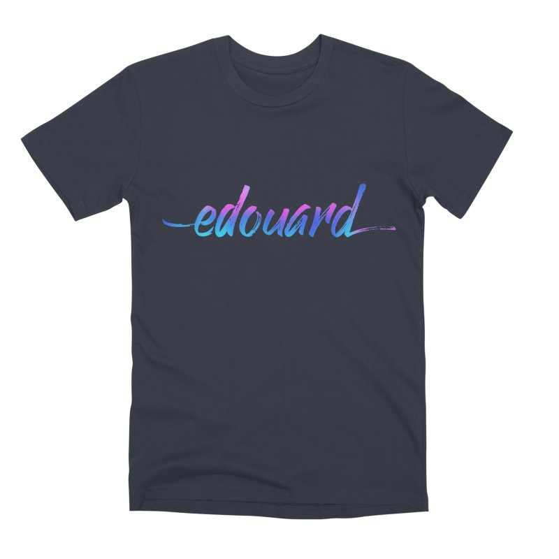 Edouard — Classic Logo Men's T-Shirt by Edouard