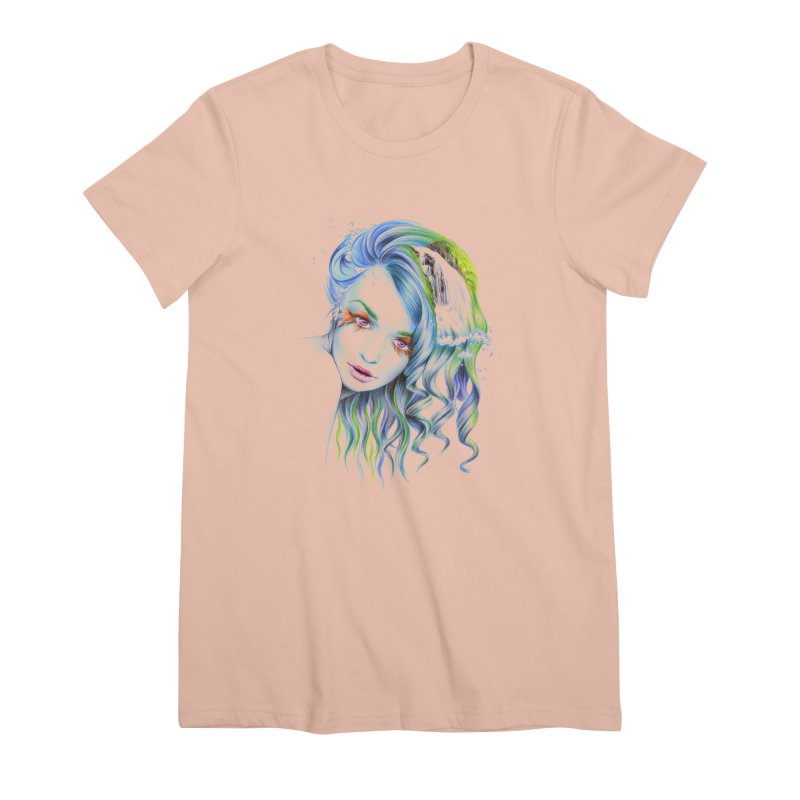 Water Women's Premium T-Shirt by edrawings38's Artist Shop