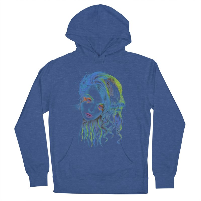 Water Men's French Terry Pullover Hoody by edrawings38's Artist Shop