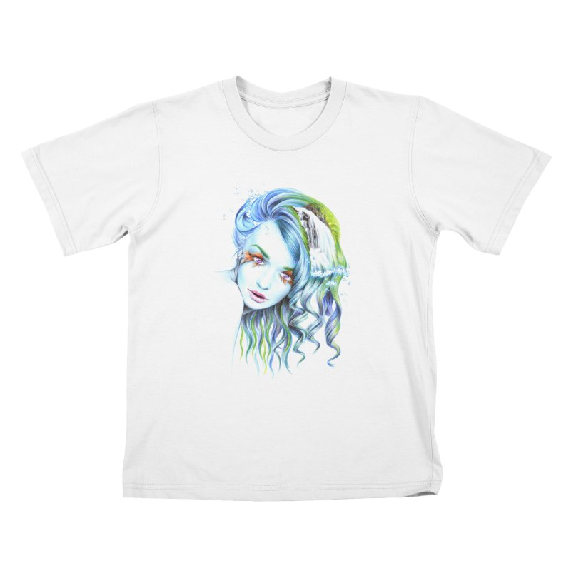 Water Kids T-Shirt by edrawings38's Artist Shop