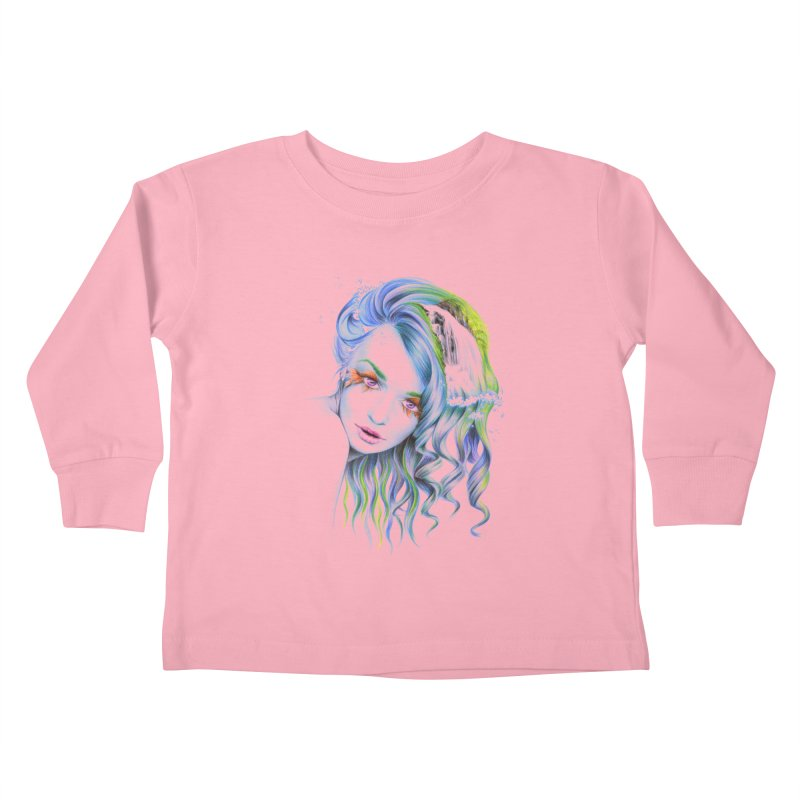 Water Kids Toddler Longsleeve T-Shirt by edrawings38's Artist Shop