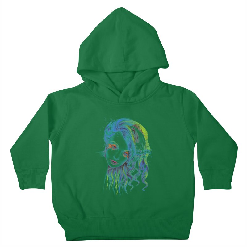 Water Kids Toddler Pullover Hoody by edrawings38's Artist Shop