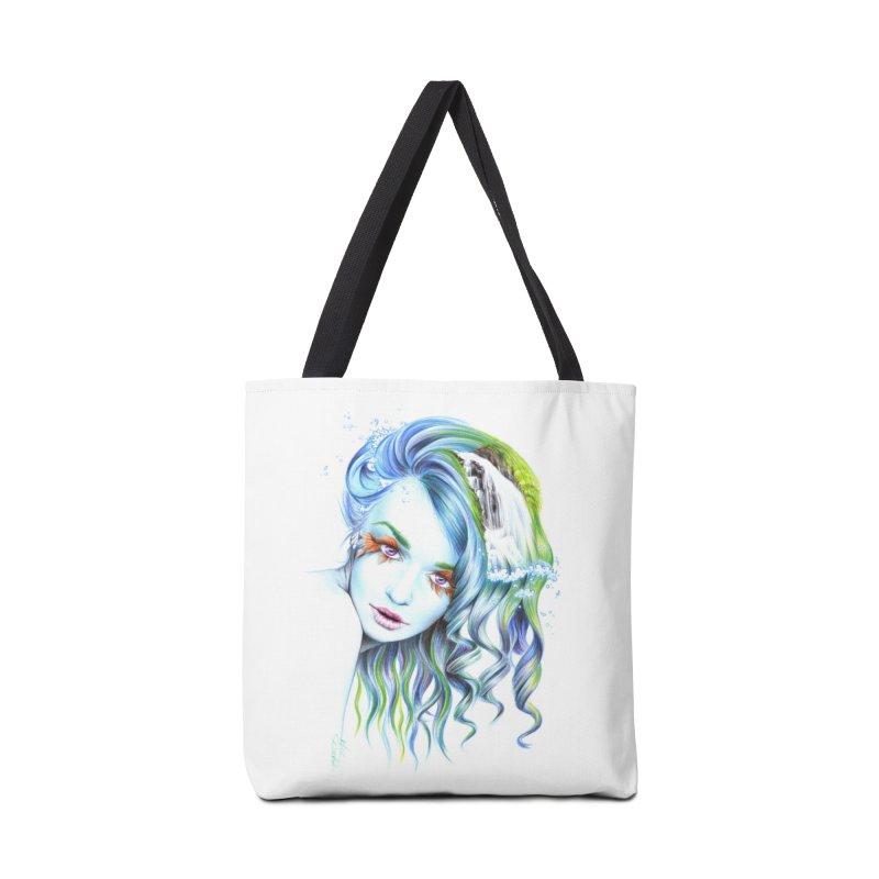 Water Accessories Tote Bag Bag by edrawings38's Artist Shop