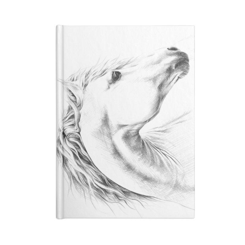 Horse Accessories Blank Journal Notebook by edrawings38's Artist Shop