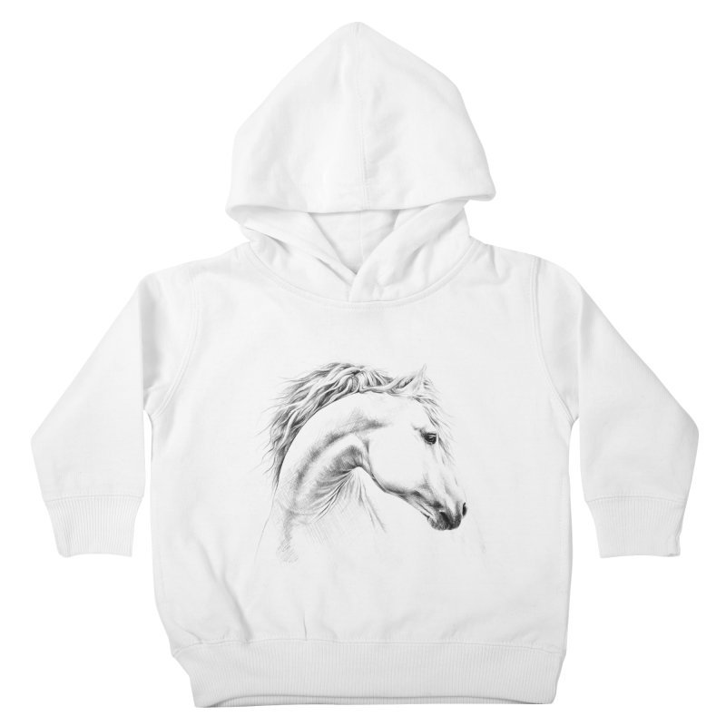 Horse Kids Toddler Pullover Hoody by edrawings38's Artist Shop