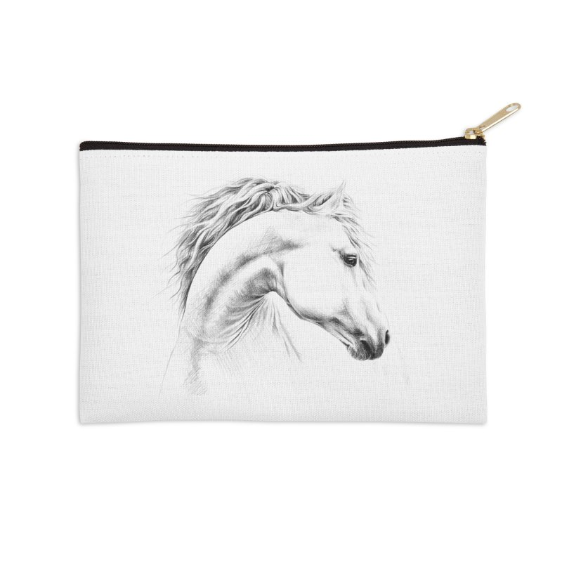 Horse Accessories Zip Pouch by edrawings38's Artist Shop