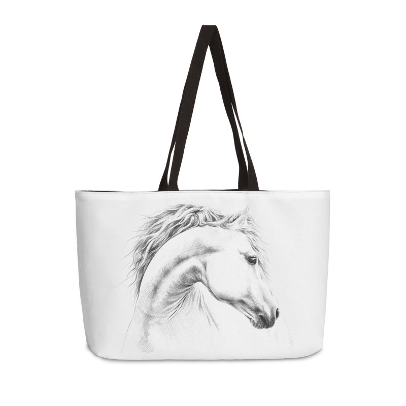 Horse in Weekender Bag by edrawings38's Artist Shop