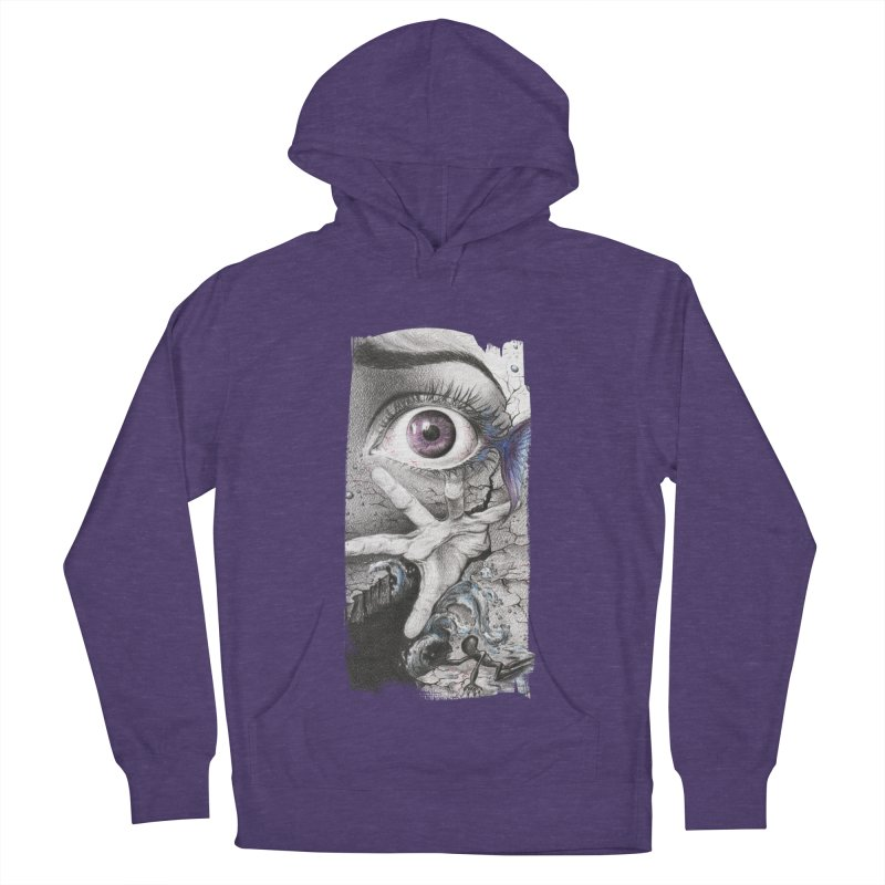 Learn to swim Men's French Terry Pullover Hoody by edrawings38's Artist Shop