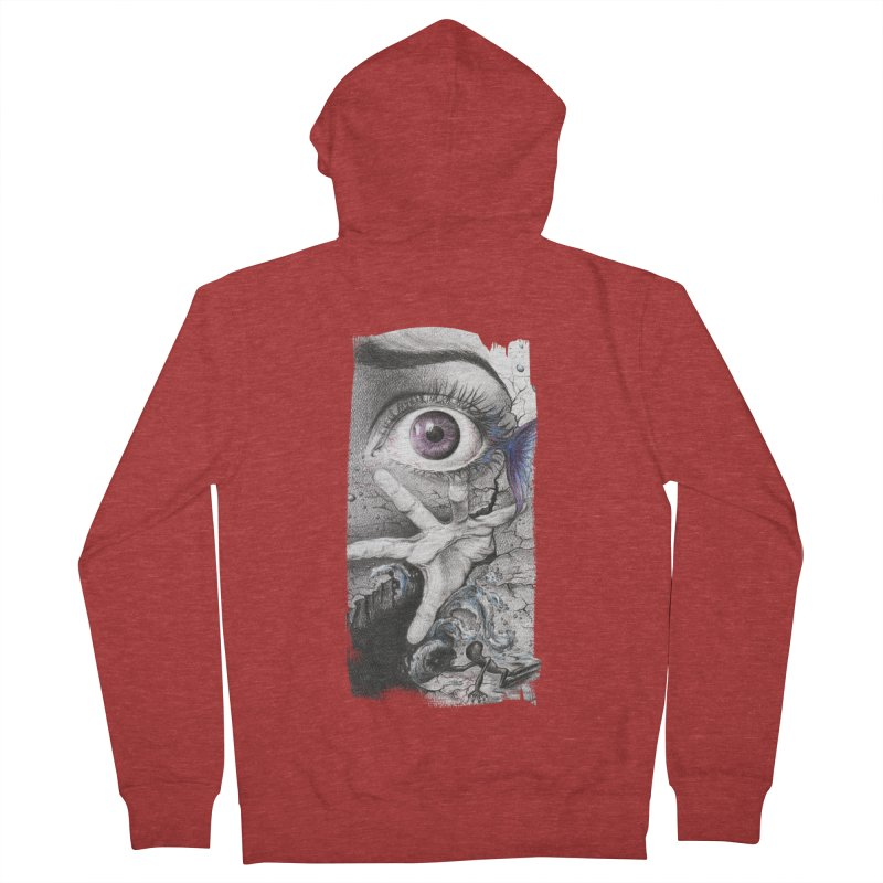 Learn to swim Women's French Terry Zip-Up Hoody by edrawings38's Artist Shop