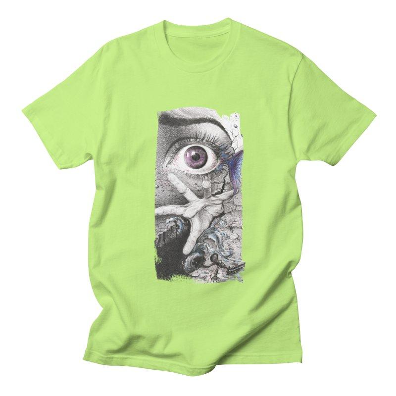 Learn to swim Men's Regular T-Shirt by edrawings38's Artist Shop