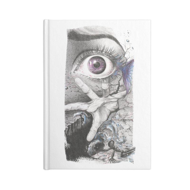 Learn to swim Accessories Blank Journal Notebook by edrawings38's Artist Shop