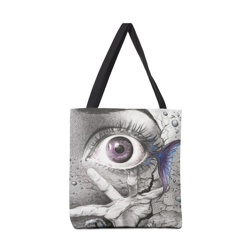 Learn to swim Accessories Tote Bag Bag by edrawings38's Artist Shop