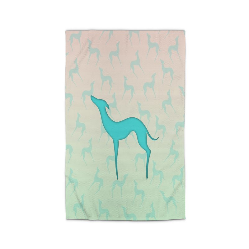 Greyhound dog silhouette Home Rug by edrawings38's Artist Shop