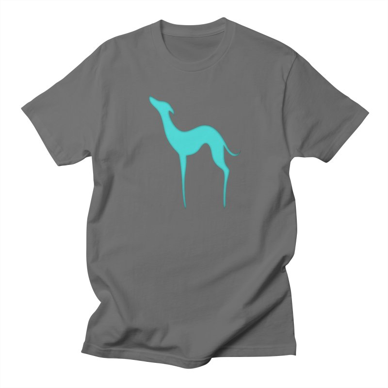 Greyhound dog silhouette Men's T-Shirt by edrawings38's Artist Shop