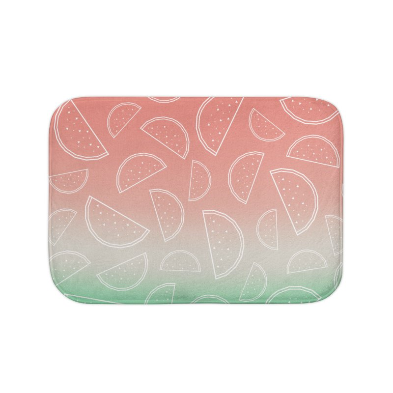 Watermelon Home Bath Mat by edrawings38's Artist Shop