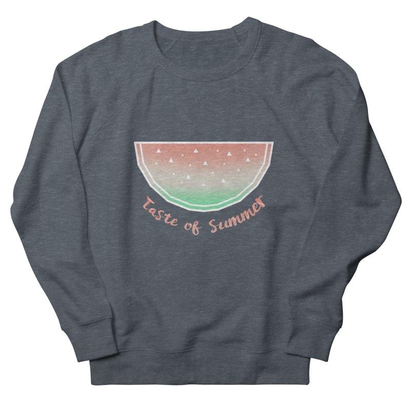 Watermelon Women's French Terry Sweatshirt by edrawings38's Artist Shop