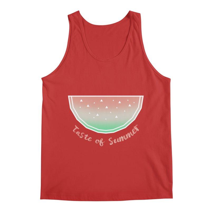 Watermelon Men's Regular Tank by edrawings38's Artist Shop