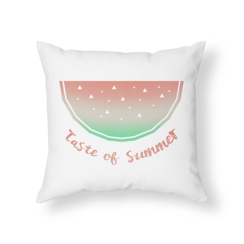 Watermelon Home Throw Pillow by edrawings38's Artist Shop