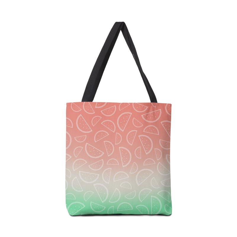 Watermelon Accessories Tote Bag Bag by edrawings38's Artist Shop