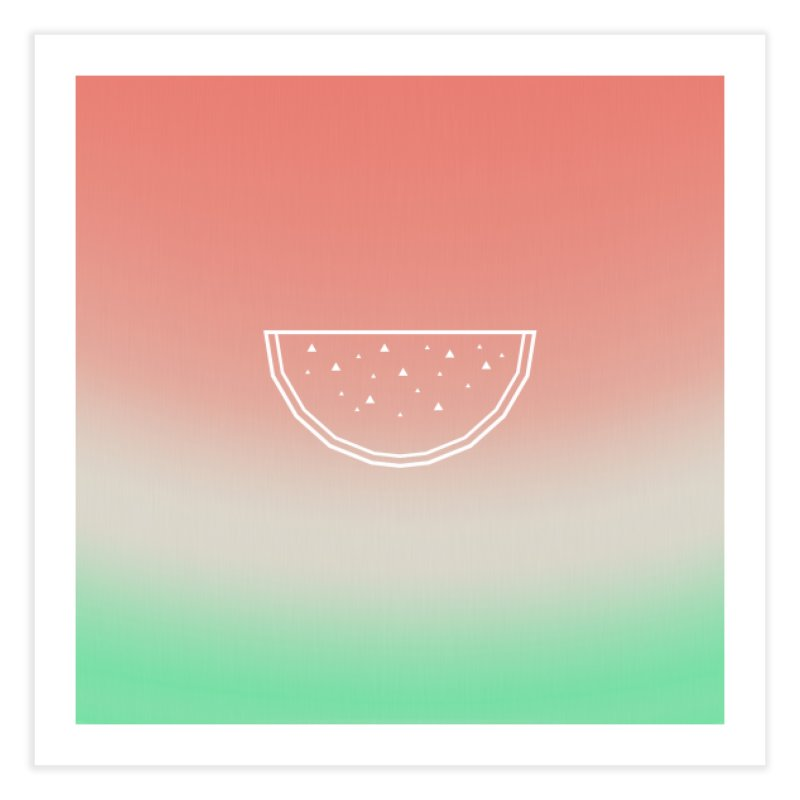 Watermelon Home Fine Art Print by edrawings38's Artist Shop