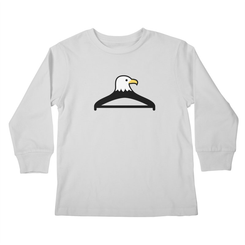 Eddy the Eagle Kids Longsleeve T-Shirt by Ed's Threads