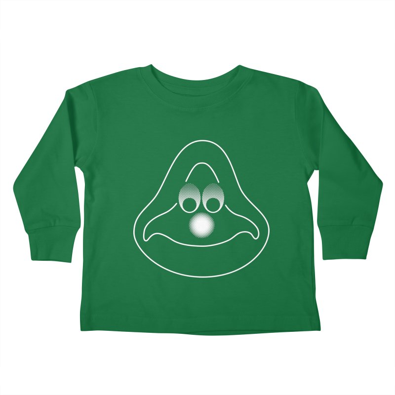 La mascotte Kids Toddler Longsleeve T-Shirt by Ed's Threads