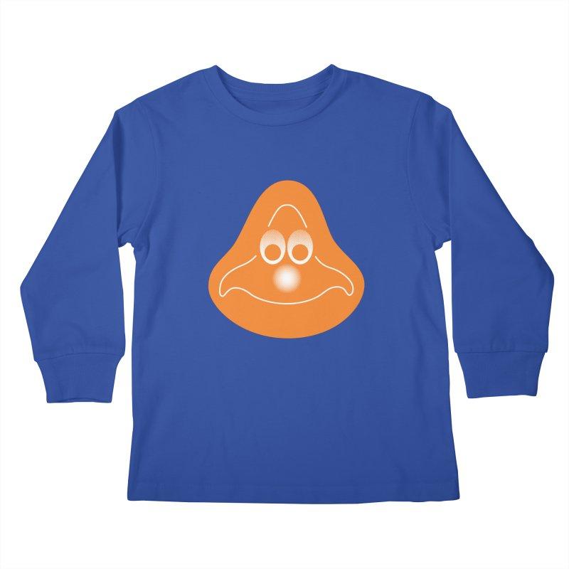 La mascotte (Solid) Kids Longsleeve T-Shirt by Ed's Threads