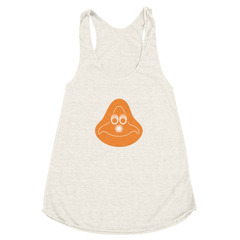 La mascotte (Solid) Women's Racerback Triblend Tank by Ed's Threads