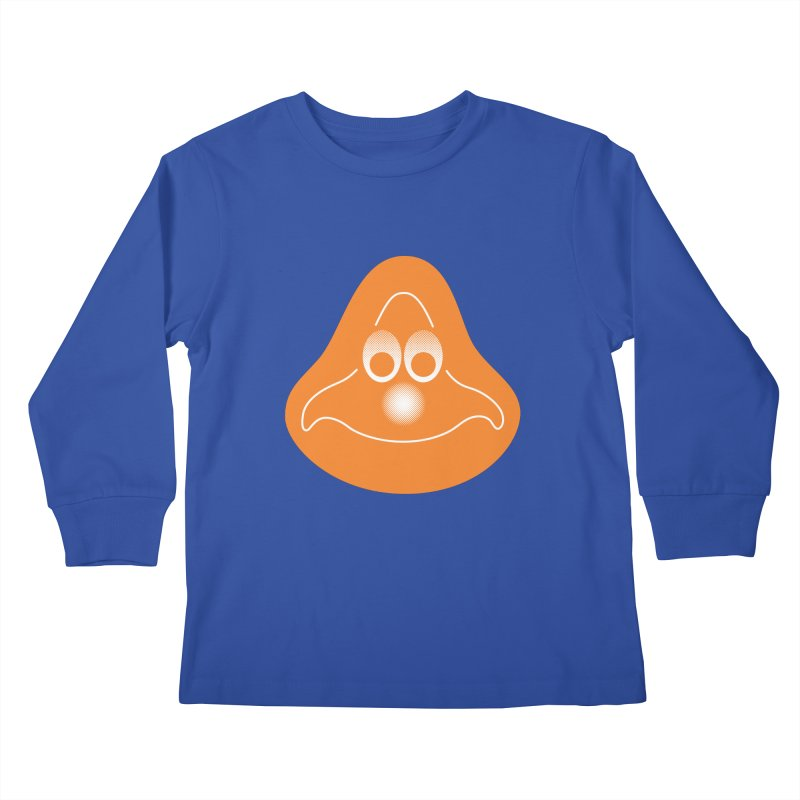 La mascotte (Solid) Kids Longsleeve T-Shirt by Ed's Threads